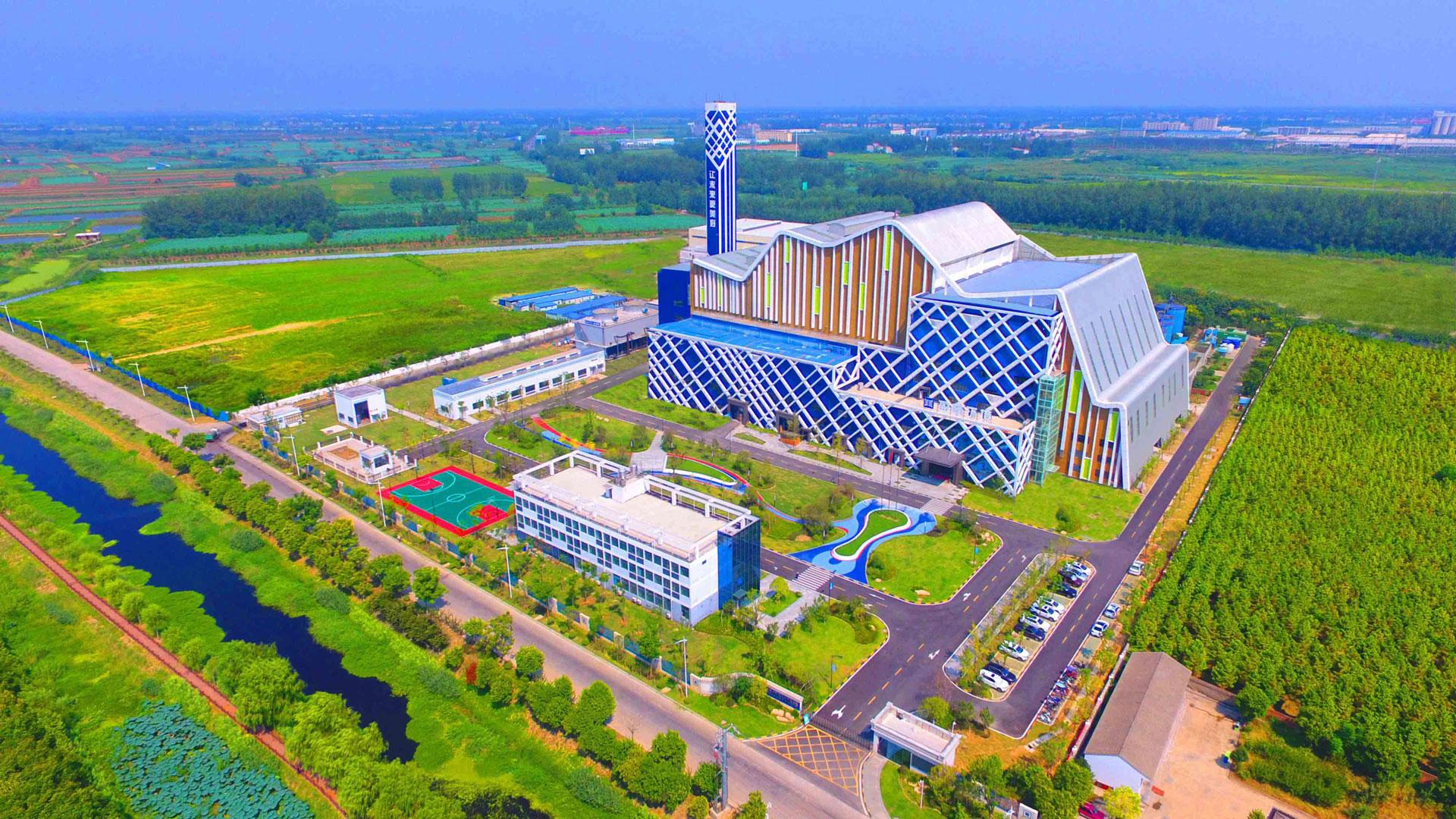 湖北省仙桃市生活垃圾焚烧发电项目正式运行
