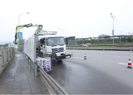 隔音屏隧道立面清洗车(ZBH5181TXQDFE6)