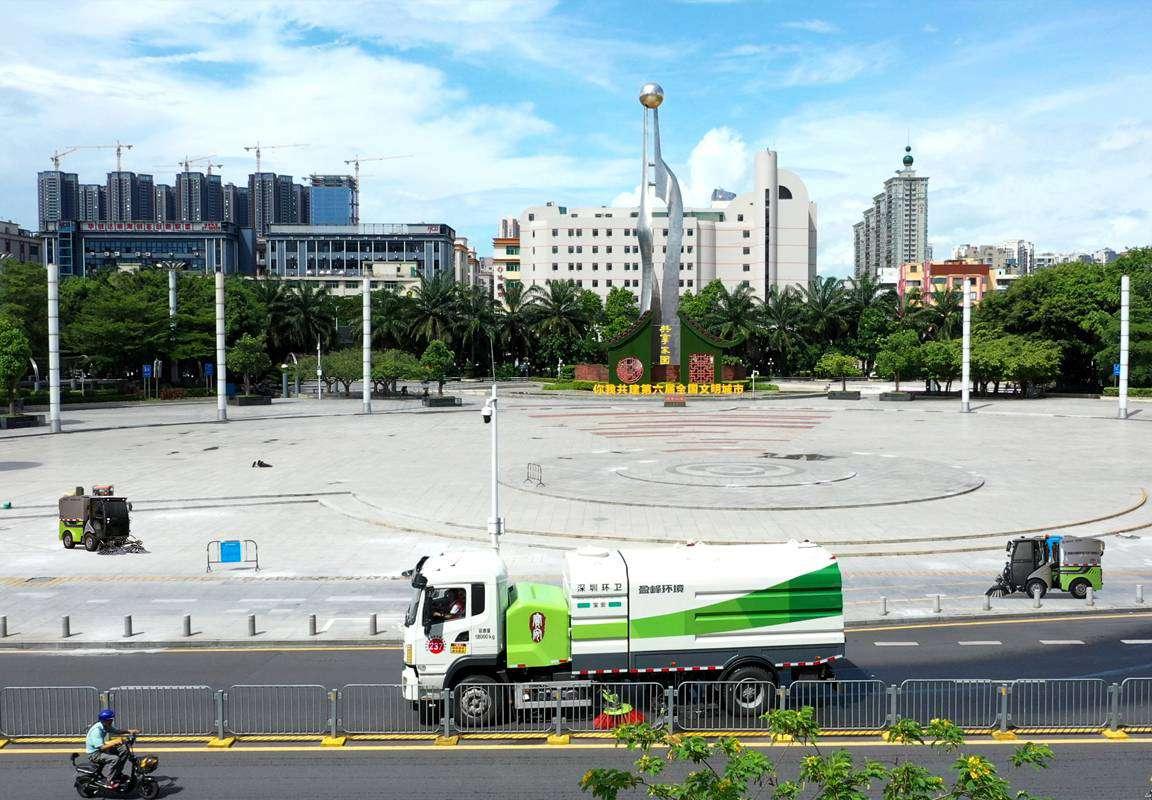 深圳市宝安区新安、福永和福海街道环卫一体化项目